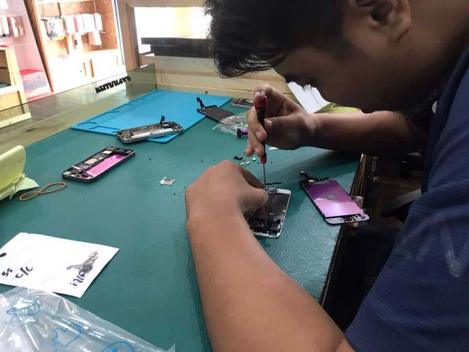 Tukar LCD iPhone 5s