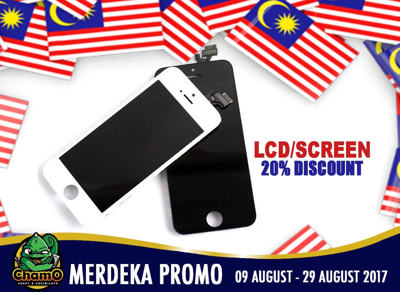 Promosi Merdeka Chamo Bangi 2017 – 20% Diskaun