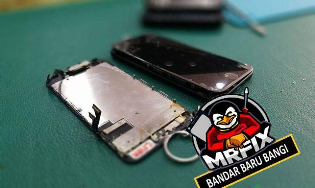 Iphone 7 Water Damage & Tukar LCD