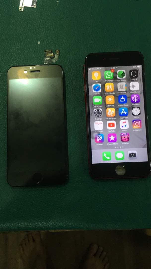 iPhone 6 Tukar LCD tak Boleh Touch – Kajang