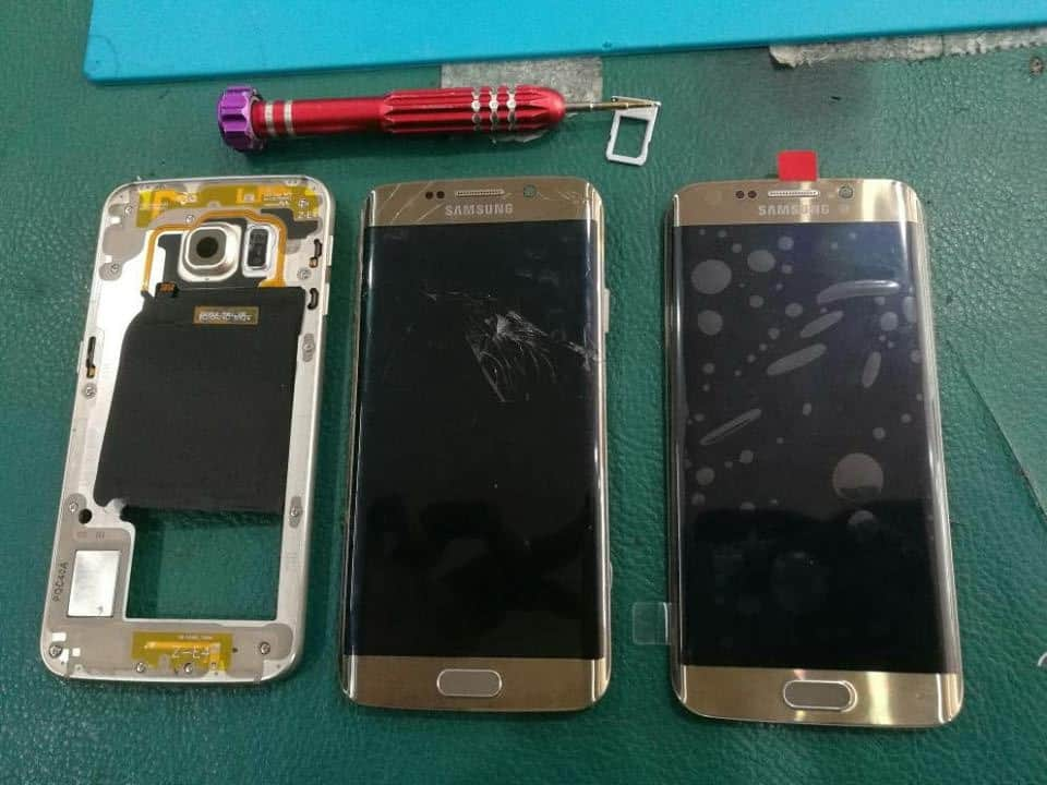 Repair LCD Samsung S6 Edge