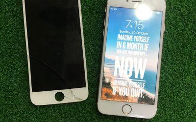 Penukaran LCD iphone 6S