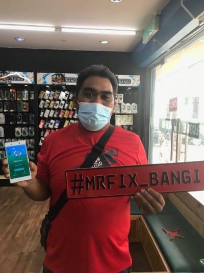 testimoni repair phone face2face bangi11