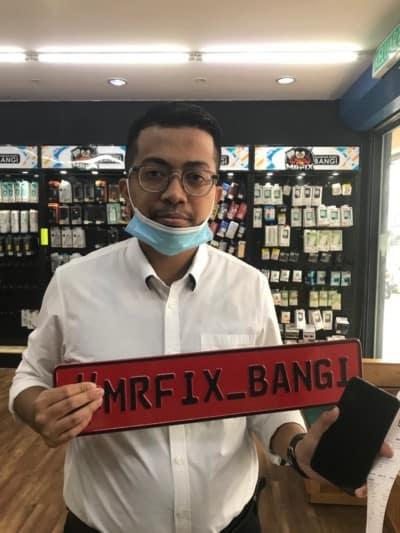 testimoni repair phone face2face bangi3