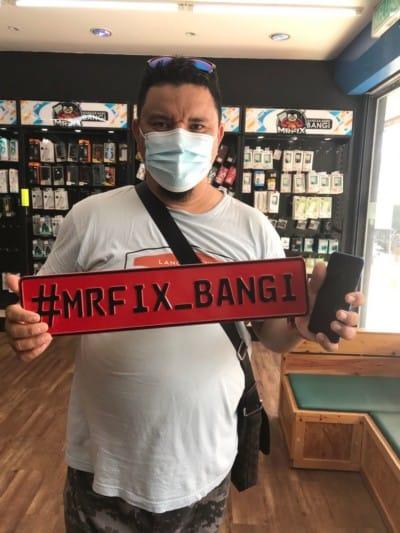 testimoni repair phone face2face bangi6
