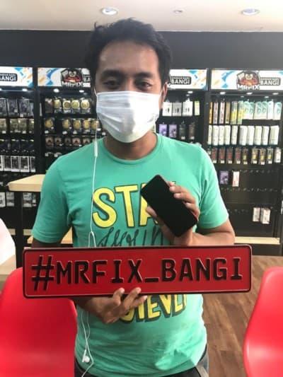 testimoni repair phone face2face bangi8