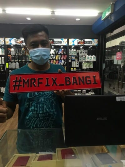 testimoni repair phone face2face bangi9
